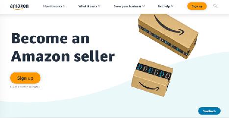 Amazon Abrir Cuenta Vendedor en Inglés